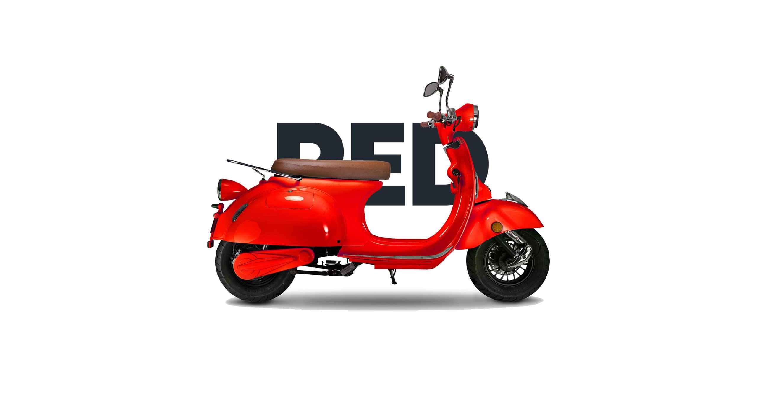 Tolle neue Farben – Dein KITO Roller jetzt auch in Rot und Schwarz glänzend