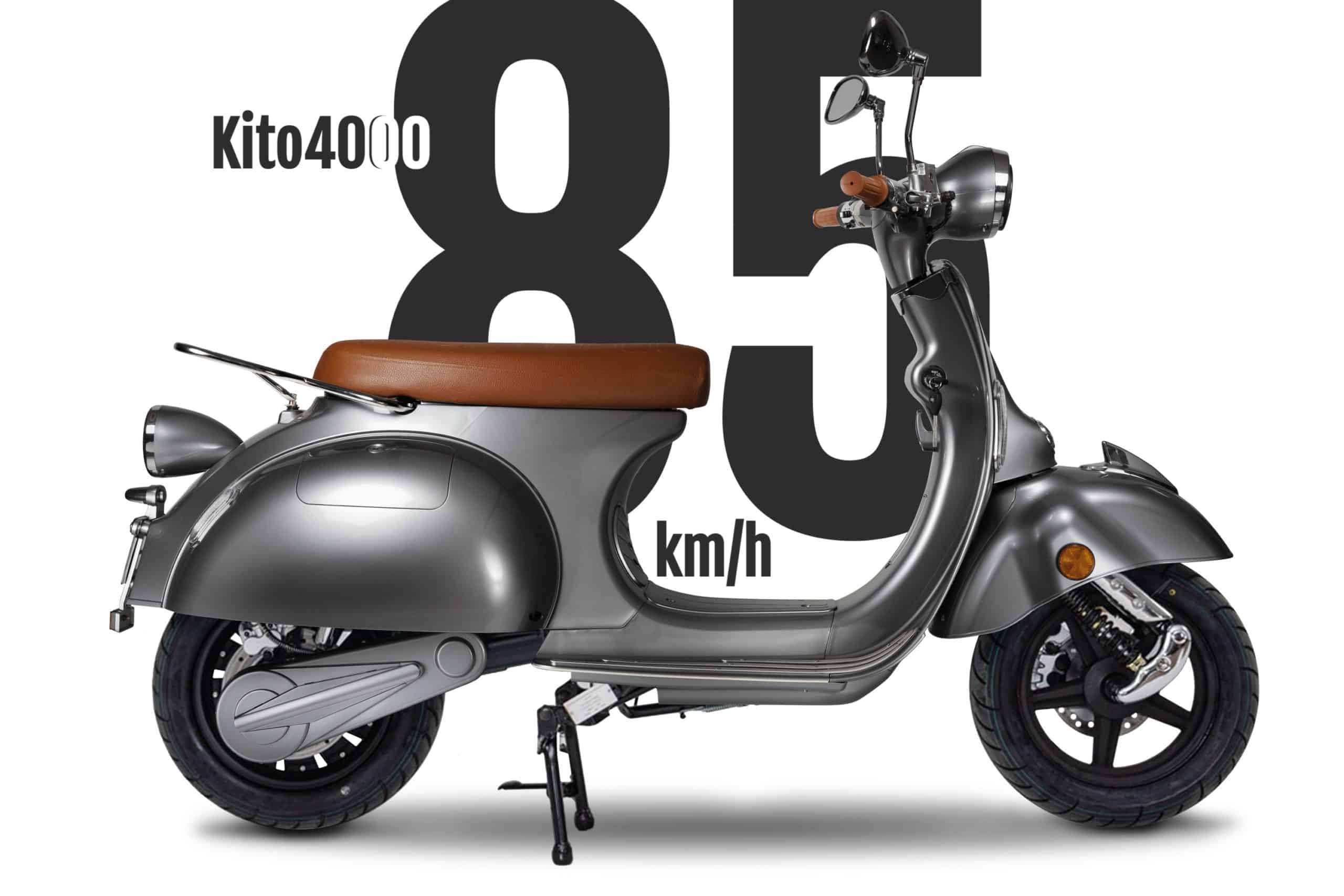 Neuer KITO4000 (85km/h) ab sofort bestellbar in 7 verschiedenen Farben.